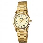 Relógio Feminino Casio Analógico LTPV001G9BUDF - Dourado