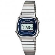 Relógio Feminino Digital Casio Vintage LA670WA2DF - Prata