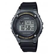 Relógio Masculino Casio Digital W-216H-1BVDF - Preto