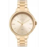 Relógio Technos Feminino Dourado 2035MMC/4X