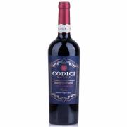 Vinho Italiano Tinto Codici Negroamaro Puglia 2019