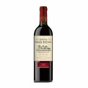 Vinho Tinto Francês Château Grand Antoine Bourdeaux 2016