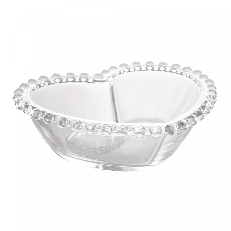 Bowl Coração Pearl 18x15x6cm Rojemac