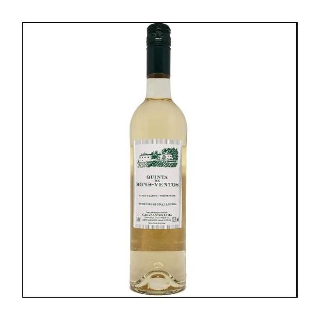 Caixa com 6 Vinhos Branco  Português Quinta de Bons Ventos 2018 750ml