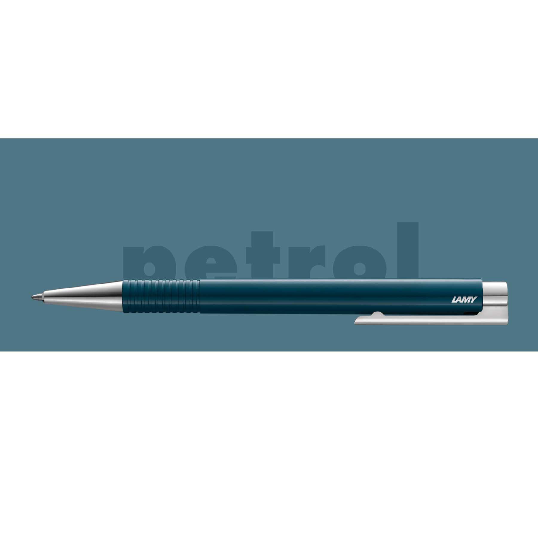 Caneta Esferografica LAMY Logo M+ Azul Petroleo