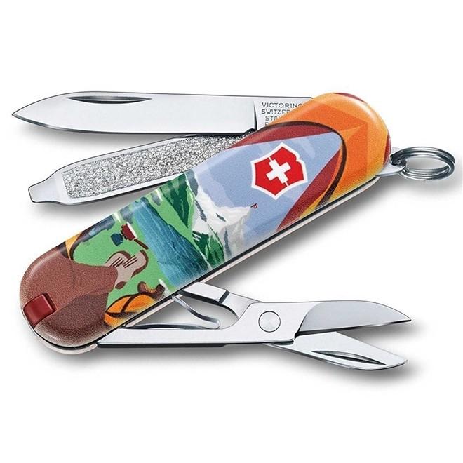 Canivete Classic Victorinox Call Of Nature Edição Limitada 2018 58 mm 0.6223.L1802