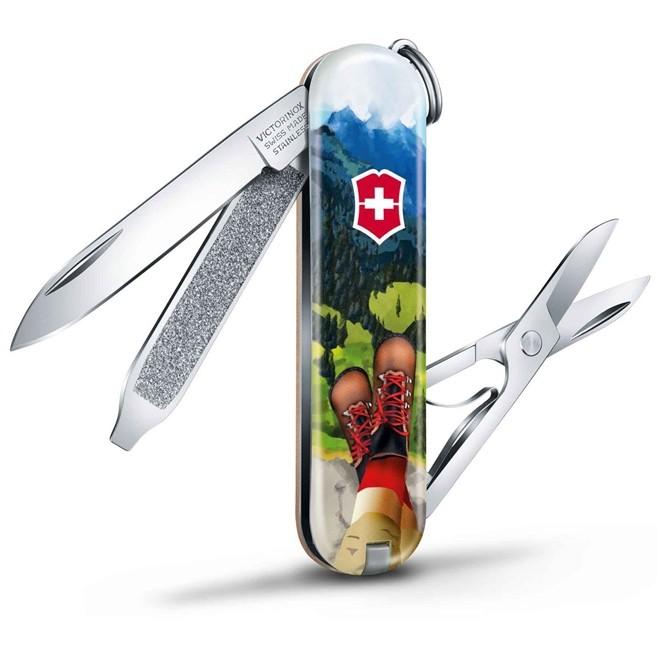Canivete Classic Victorinox I Love Hiking Edição Limitada 2020 58mm 0.6223.L2002