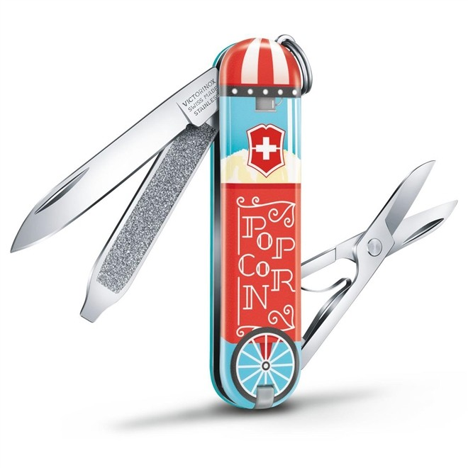 Canivete Classic Victorinox Let It Pop Edição Limitada 2019 58 mm 0.6223.L1910