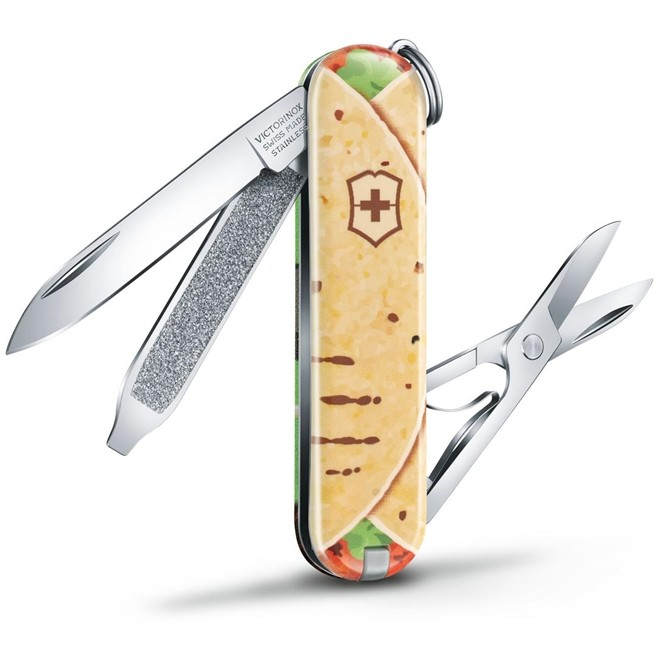Canivete Classic Victorinox Mexican Tacos Edição Limitada 2019 58 mm 0.6223.L1903