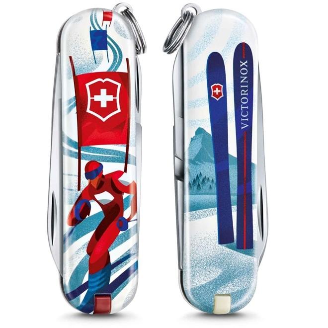 Canivete Classic Victorinox Ski Racer Edição Limitada 2020 58mm 0.6223.L2008