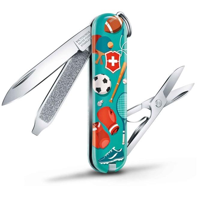 Canivete Classic Victorinox Sports World Edição Limitada 2020 58mm 0.6223.L2010
