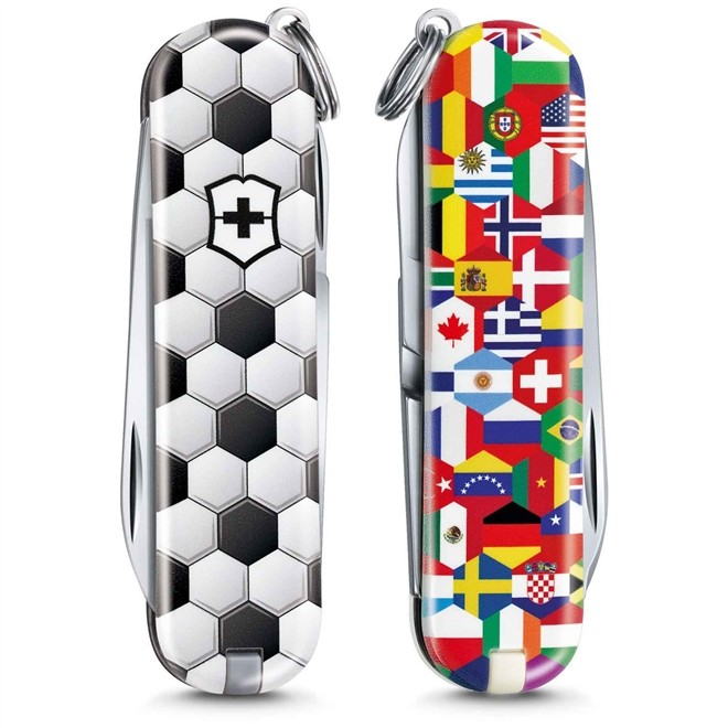 Canivete Classic Victorinox World of Soccer Edição Limitada 2020 58mm 0.6223.L2007