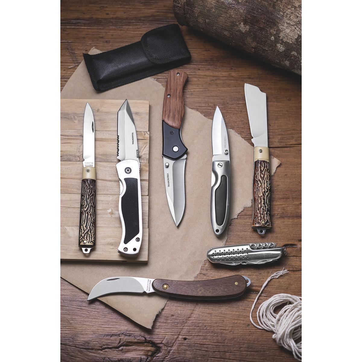 "Canivete com Lâmina Inox e Cabo ABS 3"" Tramontina 26300/003"
