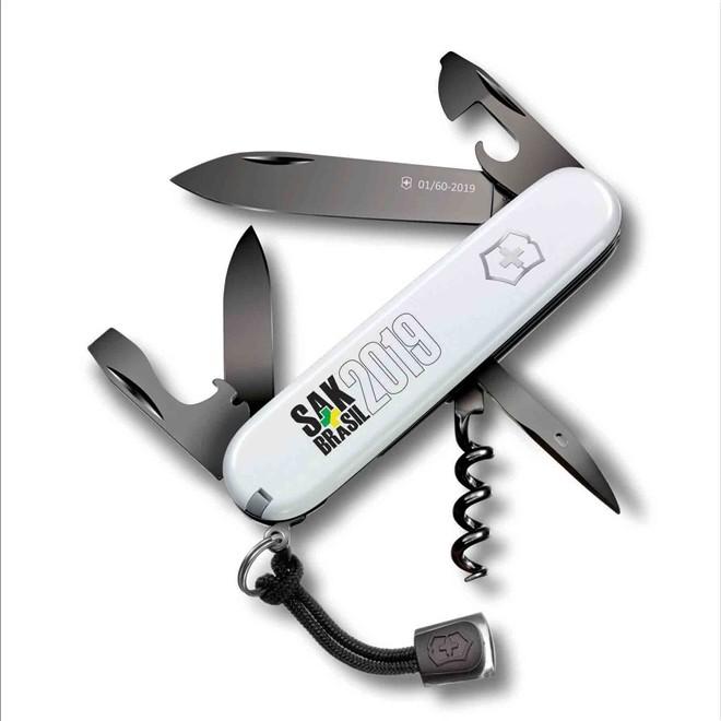 Canivete Spartan White PS Edição Limitada SAKBR 2019 XX/60