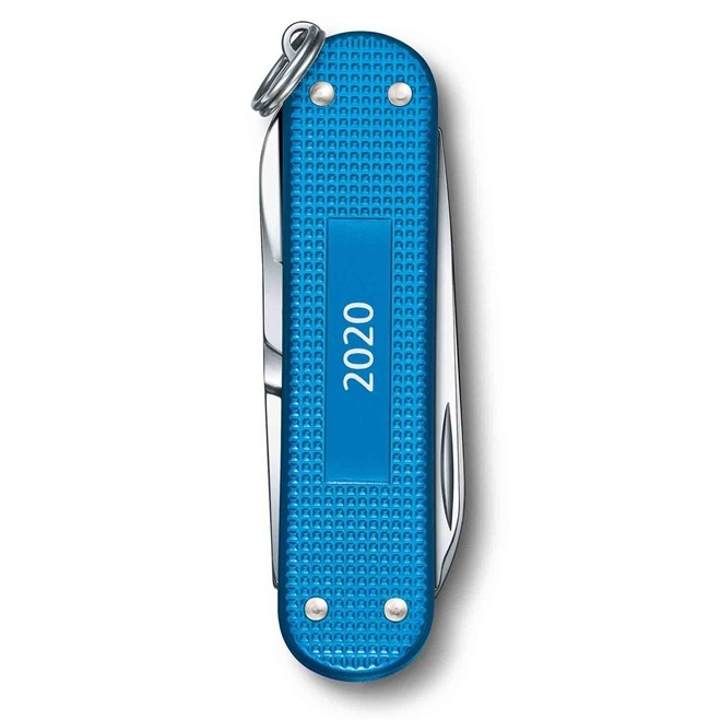 Canivete Suíço Victorinox Classic Alox 2020 Limited Edition Acqua Blue 58mm 0.6221.20