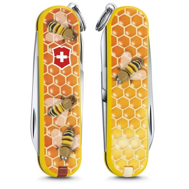 Canivete Suiço Victorinox Classic Honey Bee 58 mm 0.6223.L1702