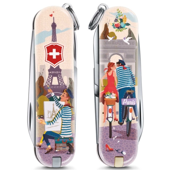 Canivete Suiço Victorinox Classic The City Of Love 58 mm 0.6223.L1810