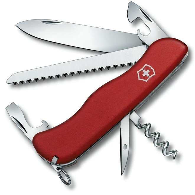 Canivete Suiço Victorinox Rucksack Vermelho 111 mm 0.8863