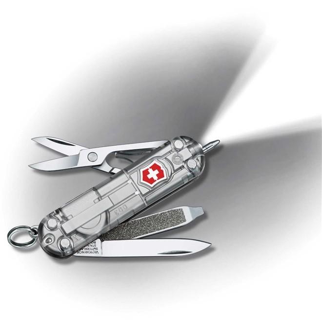 Canivete Suíço Victorinox Signature Lite Silvertech Translúcido 58 mm 0.6226.T7