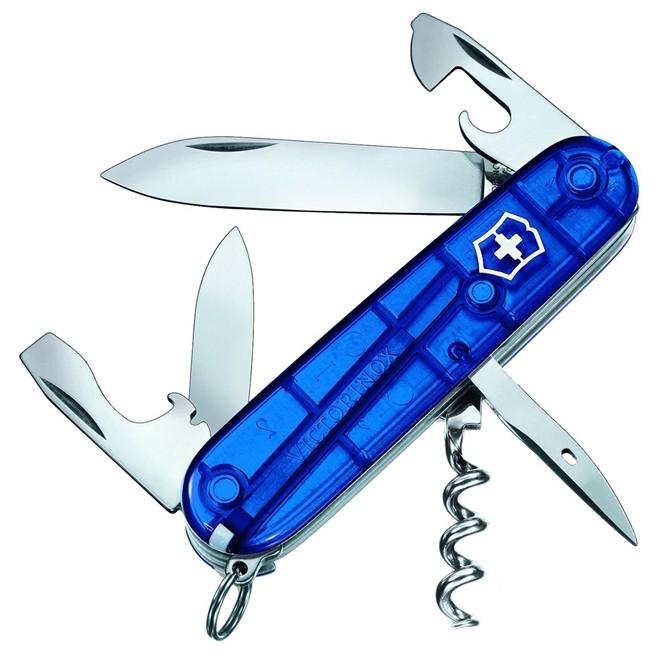Canivete Suíço Victorinox Spartan Azul Translúcido Blister 91 mm 1.3603.T2B1
