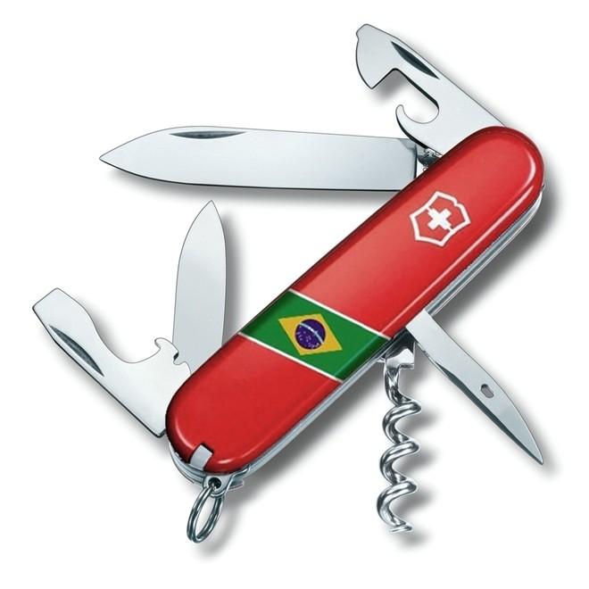 Canivete Suíço Victorinox Spartan Brasil 91 mm 1.3603.BR1