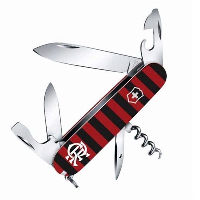 Canivete Suíço Victorinox Spartan Flamengo 91 mm 1.3603.FLA
