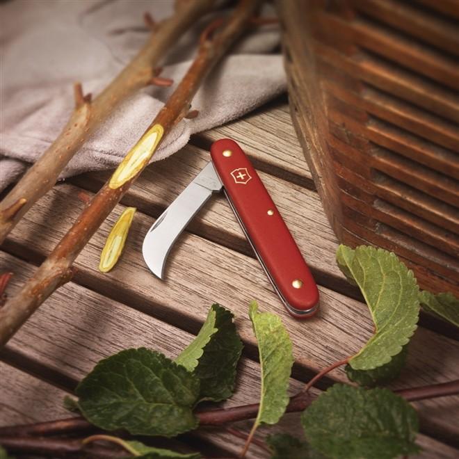 Canivete Victorinox de poda Floral Knife Vermelho 3.9060