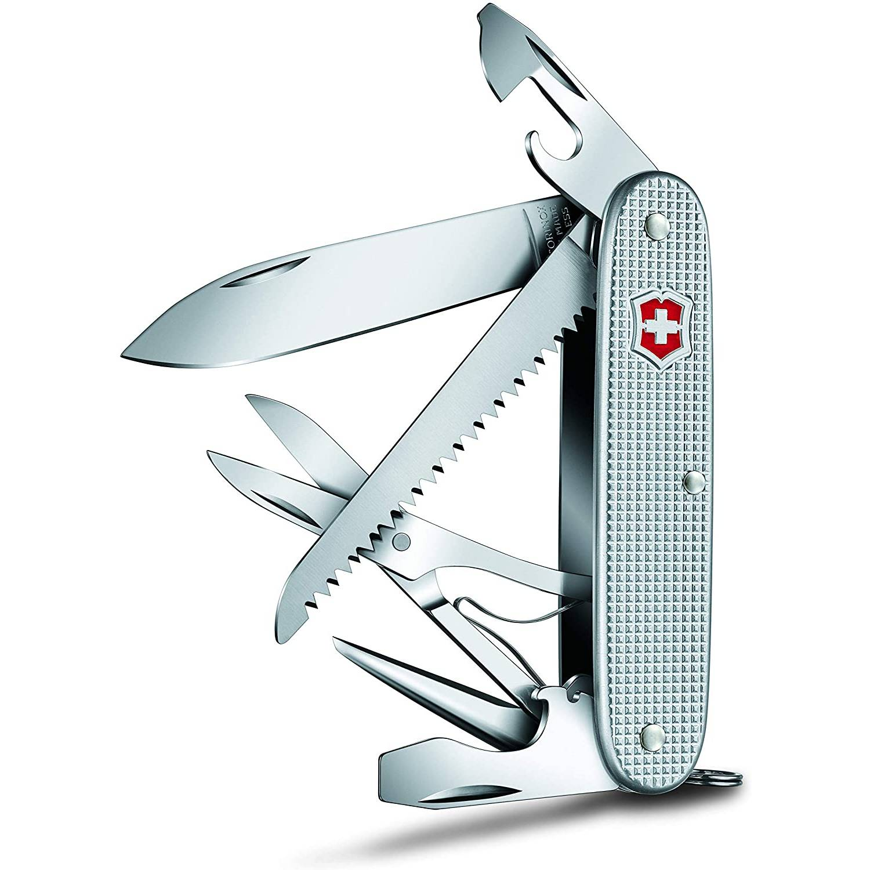Canivete Victorinox Farmer X Alox Prata 91mm 0.8271.26