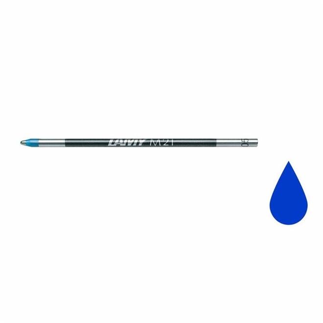 Carga Esferográfica Lamy Ponta Média Azul M21 1601044