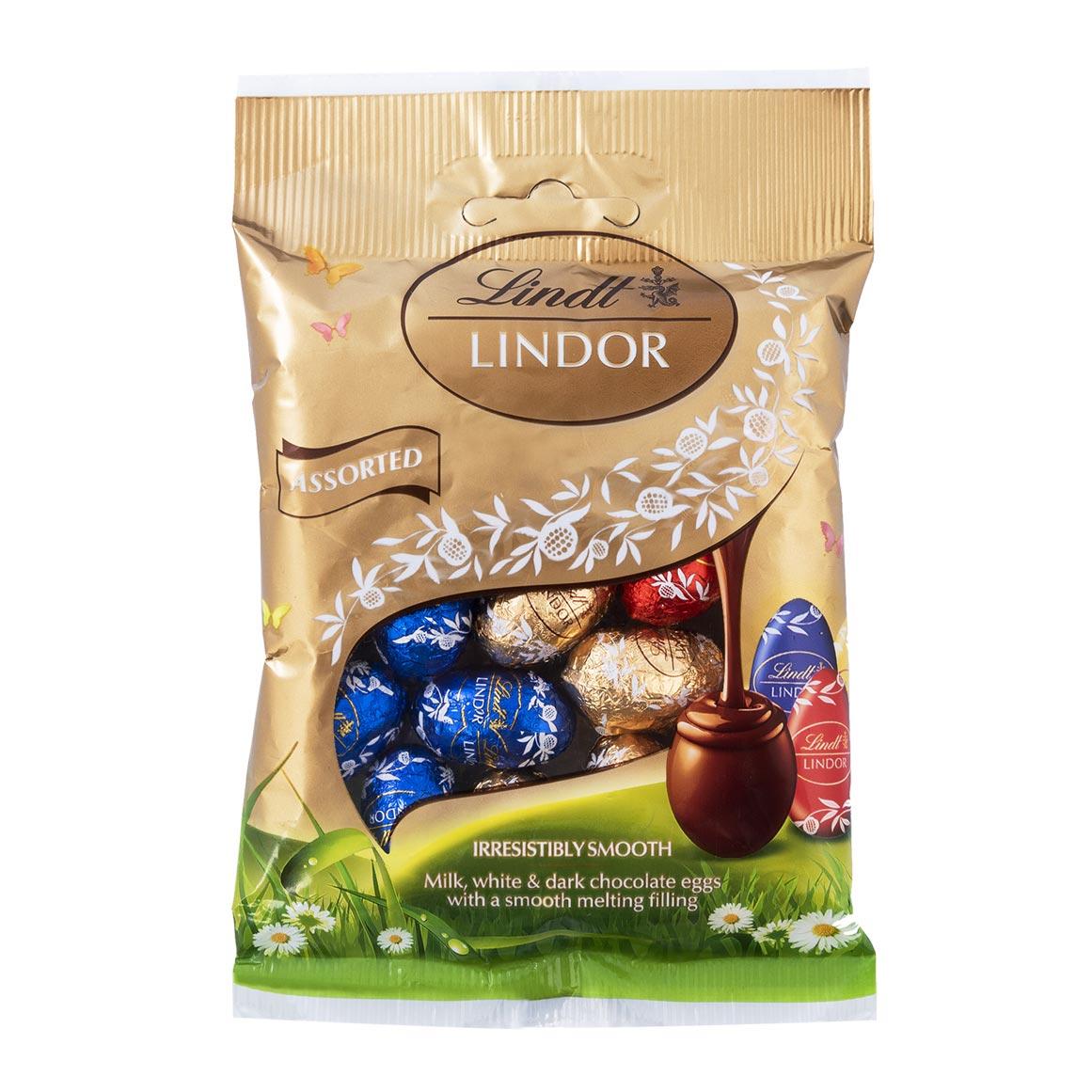Chocolate Lindt Lindor Eggs Sortidos 100g