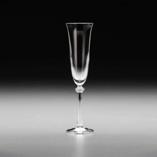 Conjunto Taças Champagne Alexandra 6 Peças Bohemia 190ml