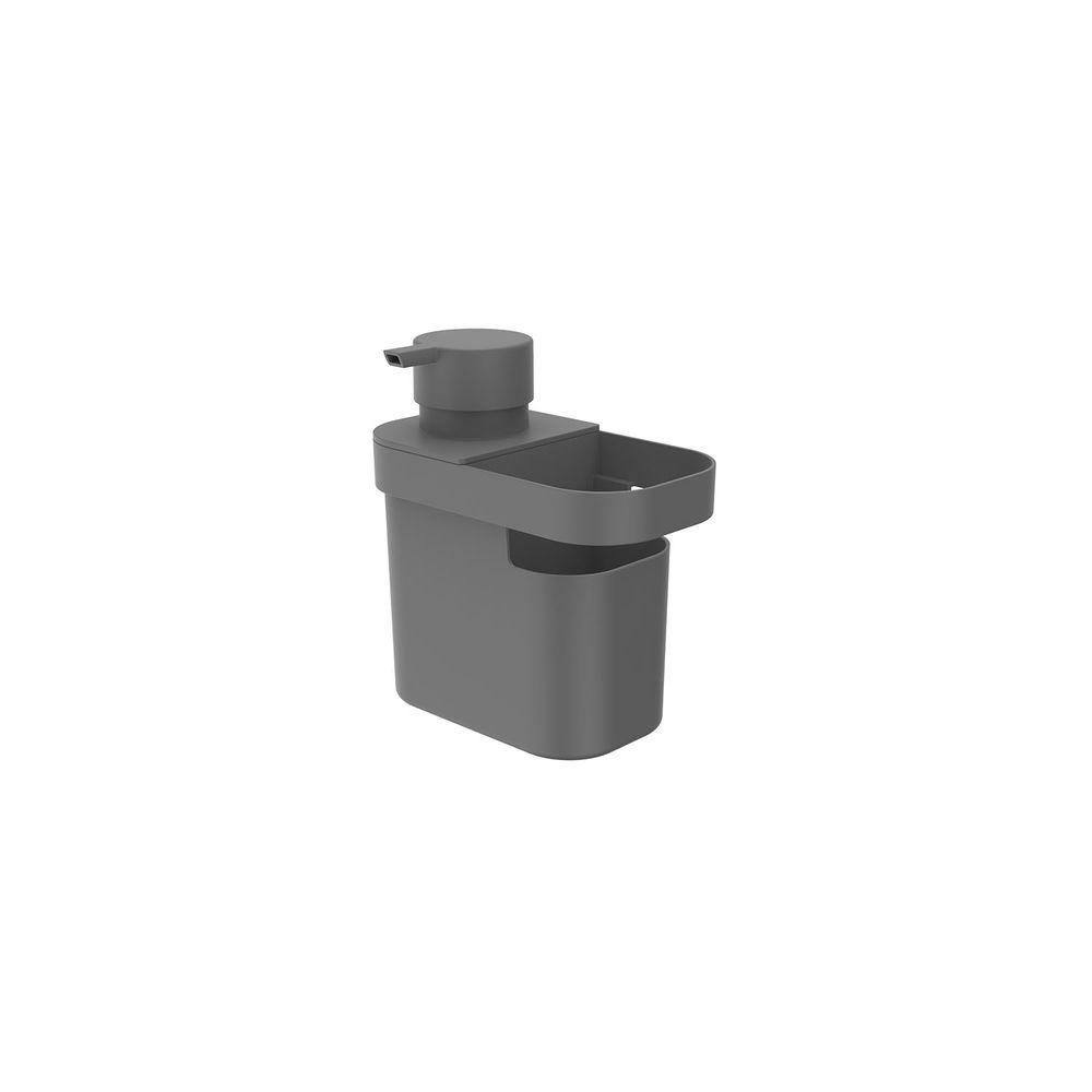 Dispenser Detergente/Organizador Trium 650ml Chumbo OU DT550