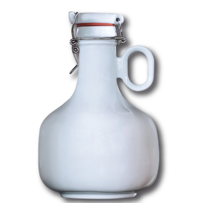 Growler Robust Porcelana Branca Germer 2L