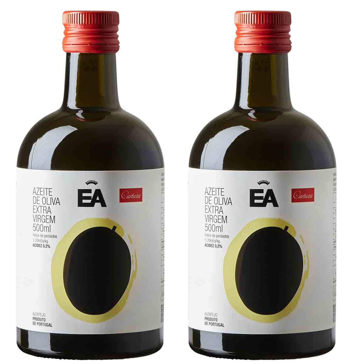 Kit 2 Azeite de oliva extra virgem Português EA Cartuxa 500ml