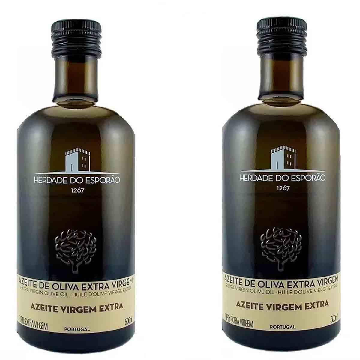 Kit 2 Azeite de oliva extra virgem Português Herdade do Esporão 500ml