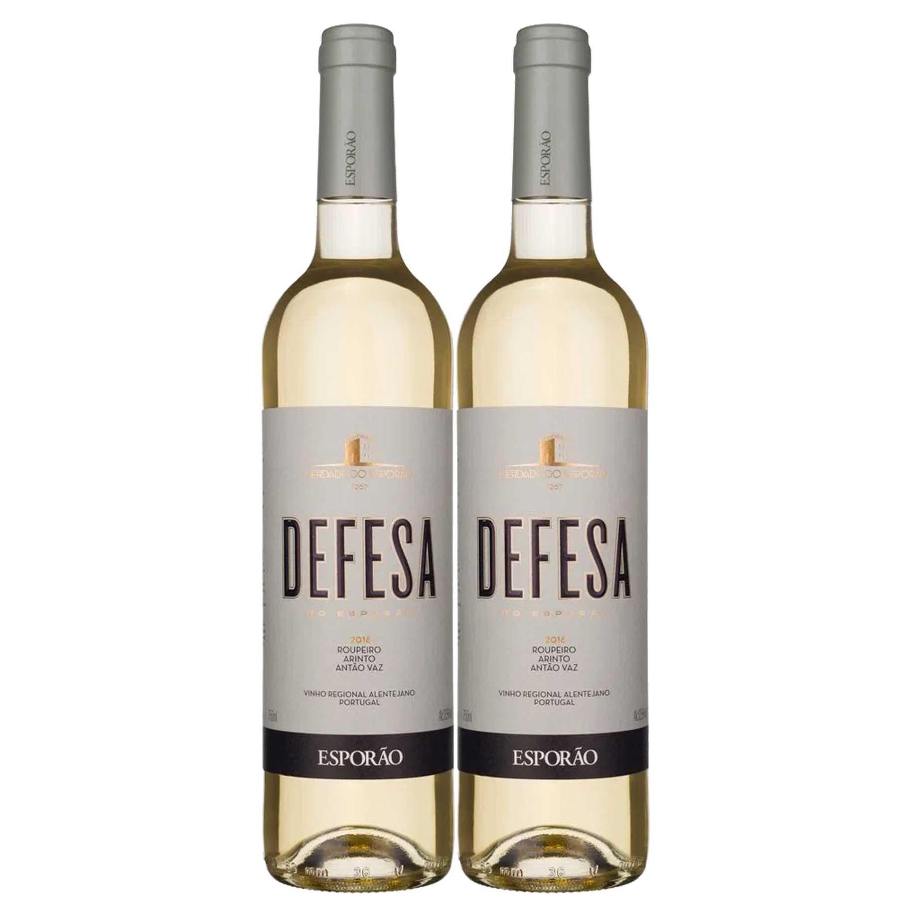 Kit 2 Vinho Branco Português Vinha da Defesa Esporão 2018