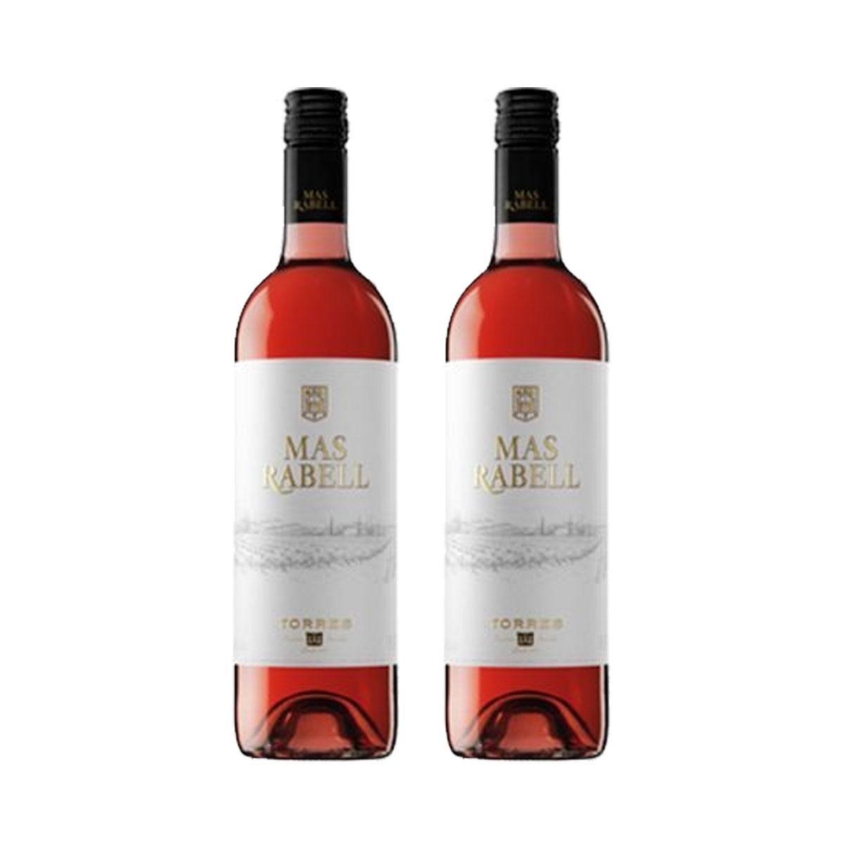 Kit 2x Vinho Rose Espanhol Torres Mas Rabell 750ml 2017