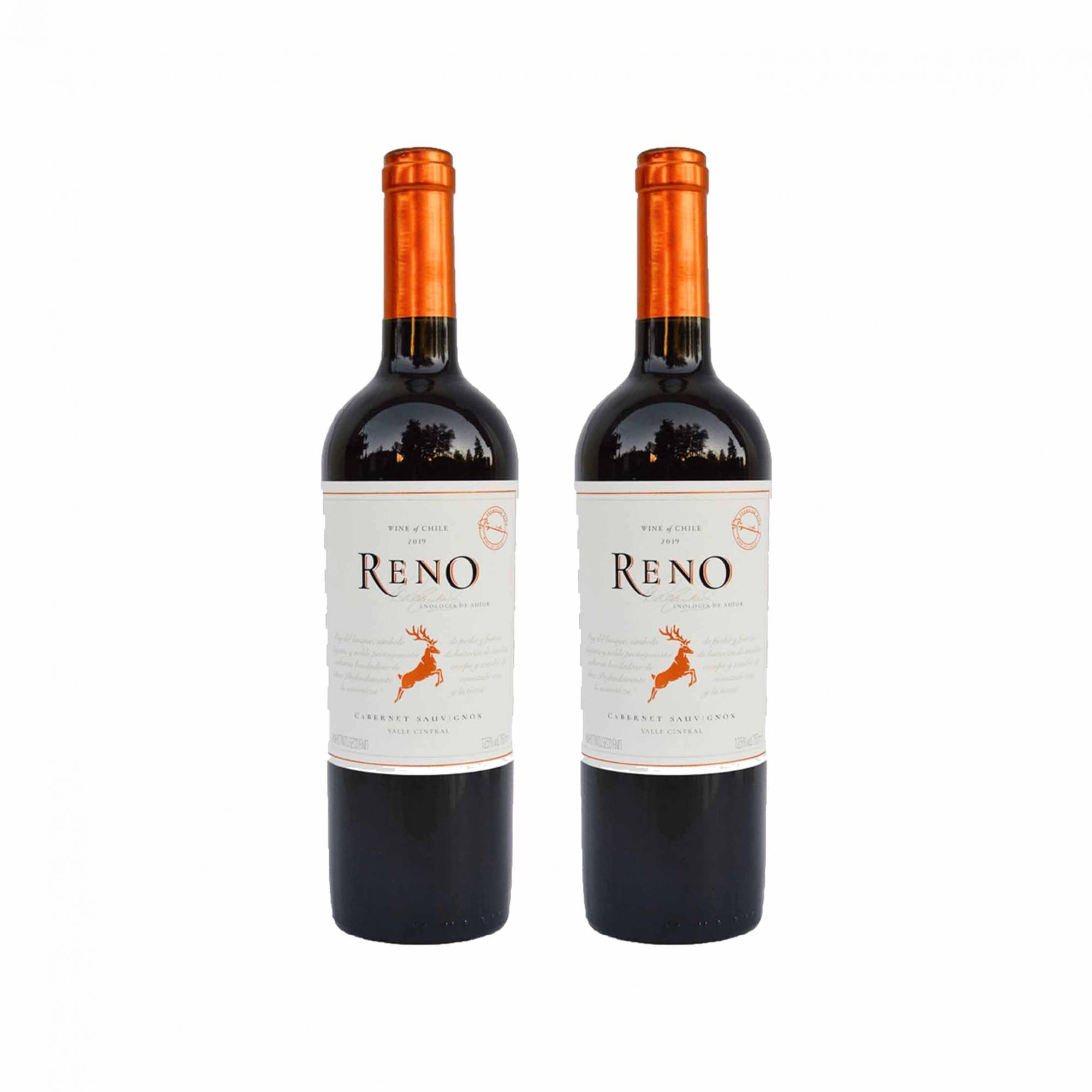Kit 2x Vinho Tinto Chileno Reno Cabernet Sauvignon 2019