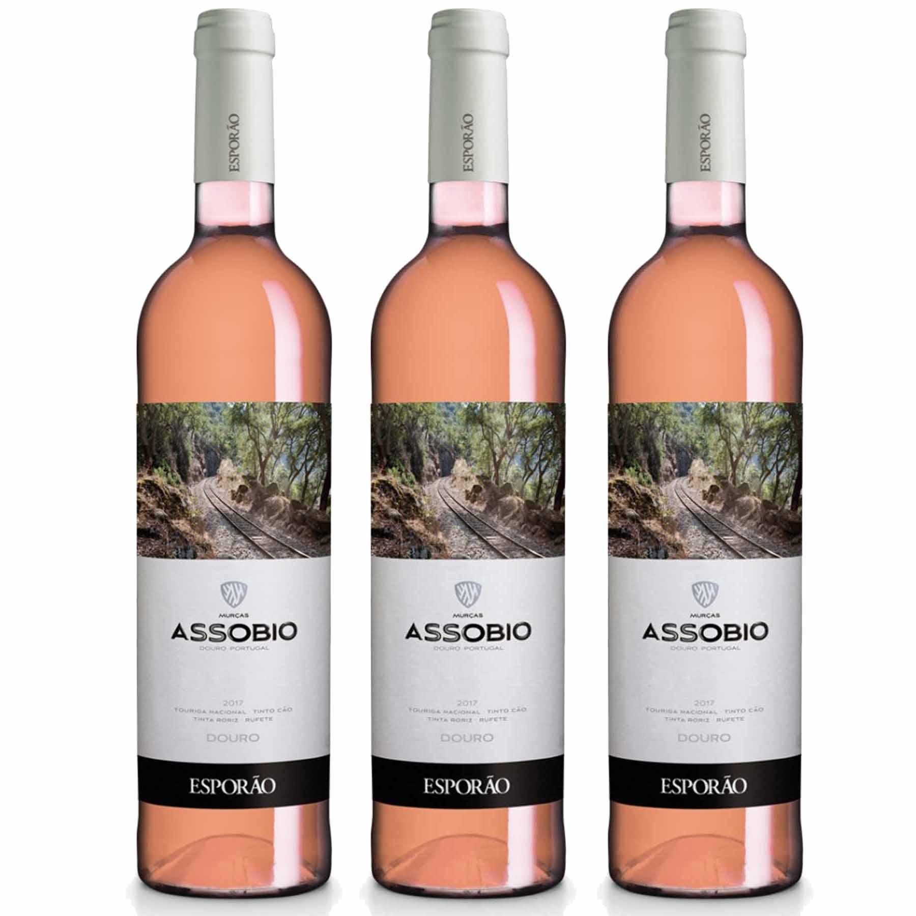 Kit 3x Vinho Português Rose Esporão Assobio Douro 750ml 2019