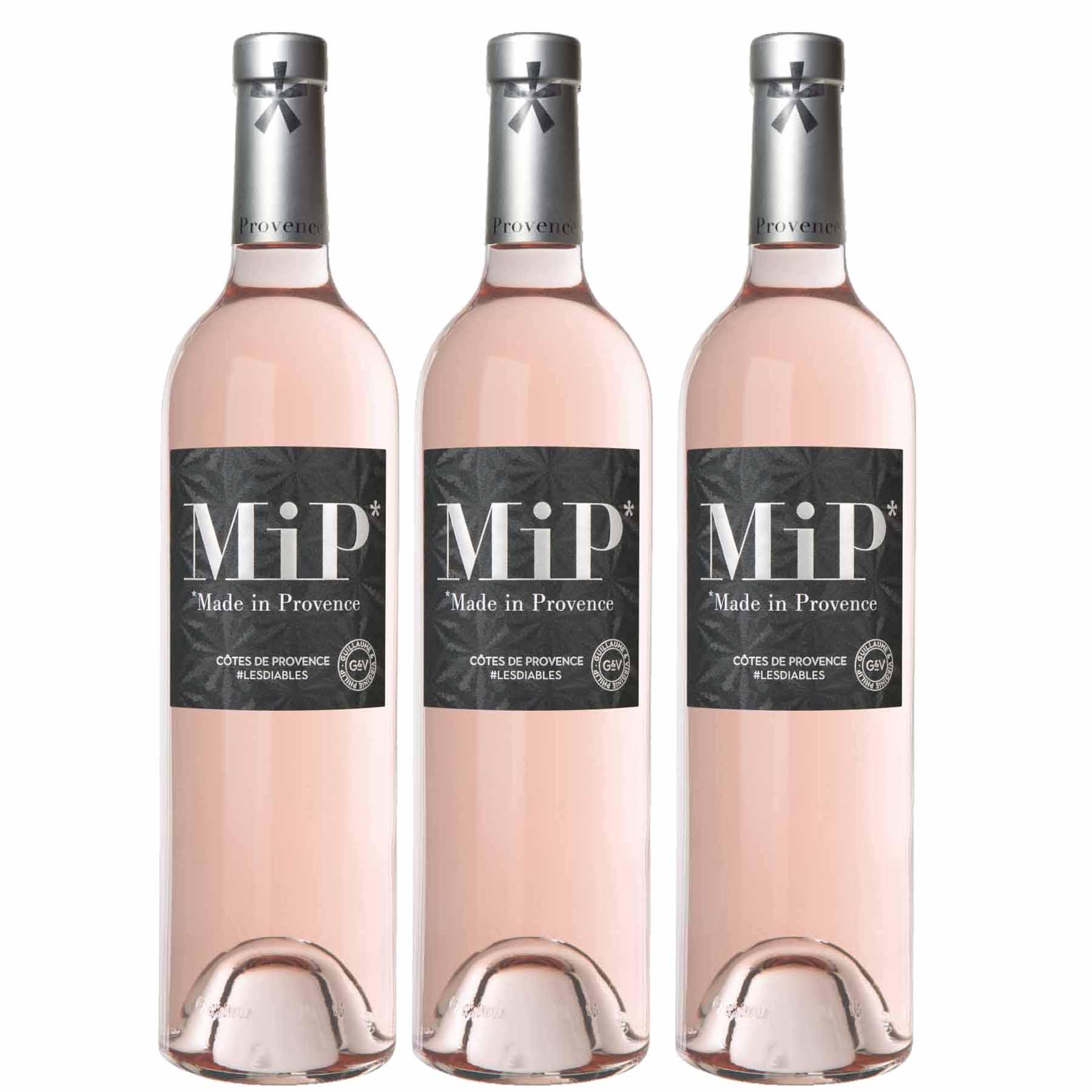 Kit 3x Vinho Rosé Francês MIP Classic Côtes de Provence 2019