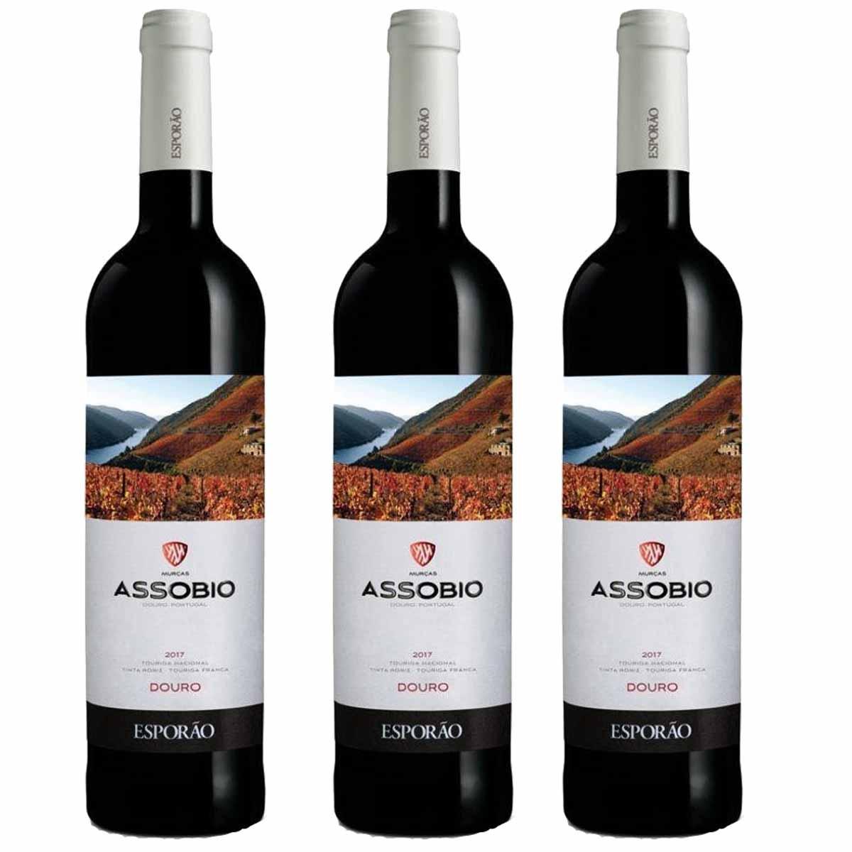 Kit 3x Vinho Tinto Português Esporão Assobio Douro 2019