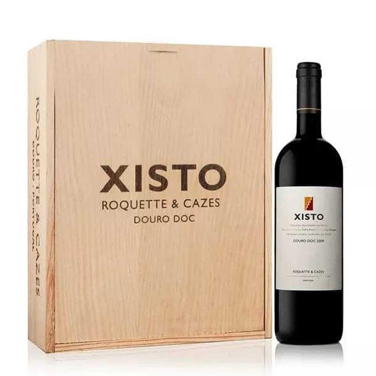 Kit 3x Vinho Tinto Português Xisto Roquette Cazes Douro 2015