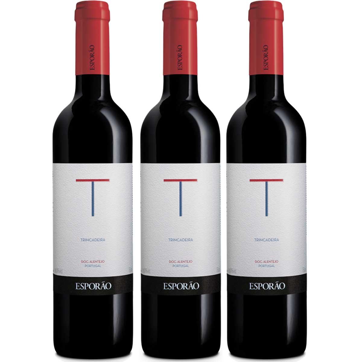 Kit 6 Vinhos Tinto Português Esporão Trincadeira 2018 750ml