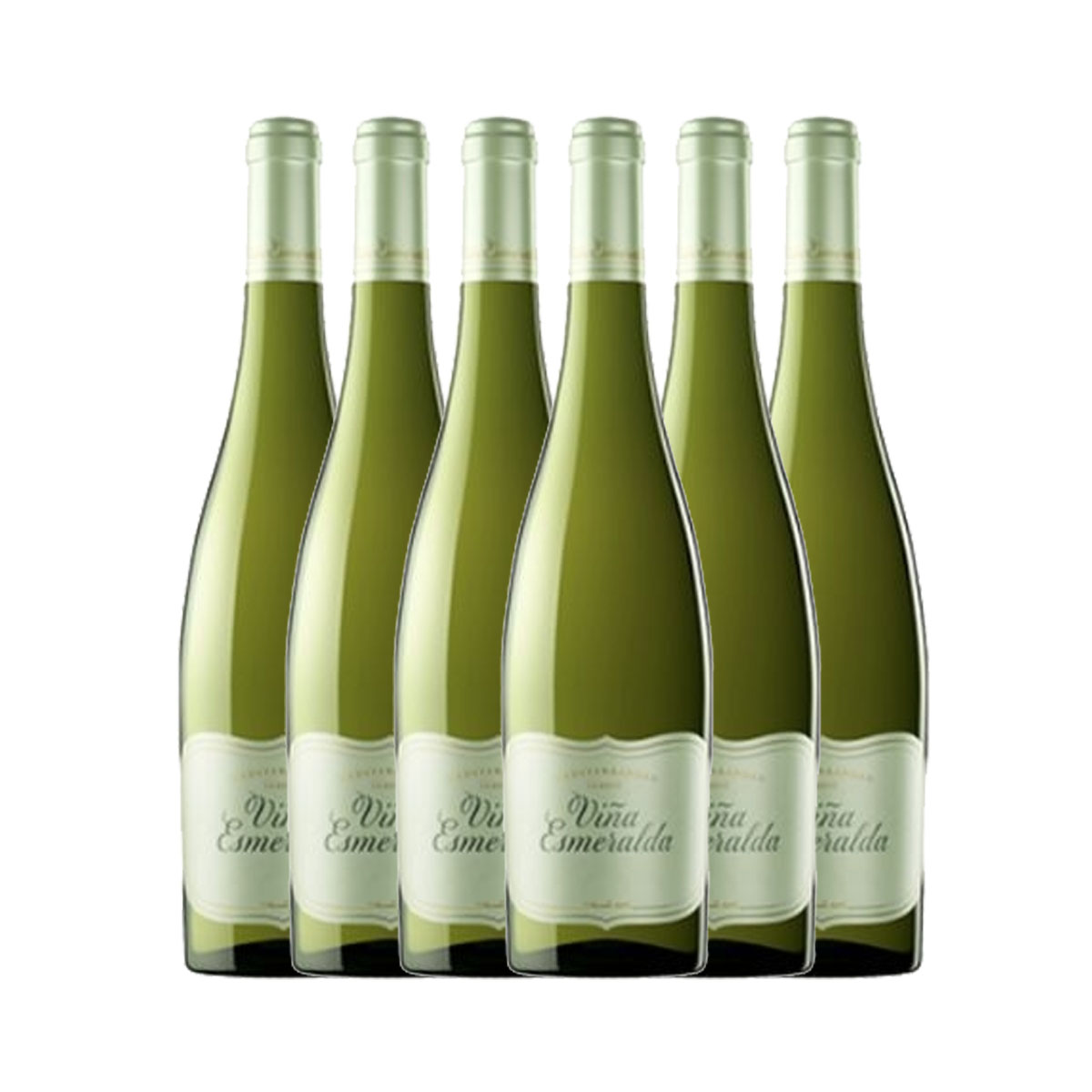 Kit 6x Vinho Branco Espanhol Torres Esmeralda 750ml 2019