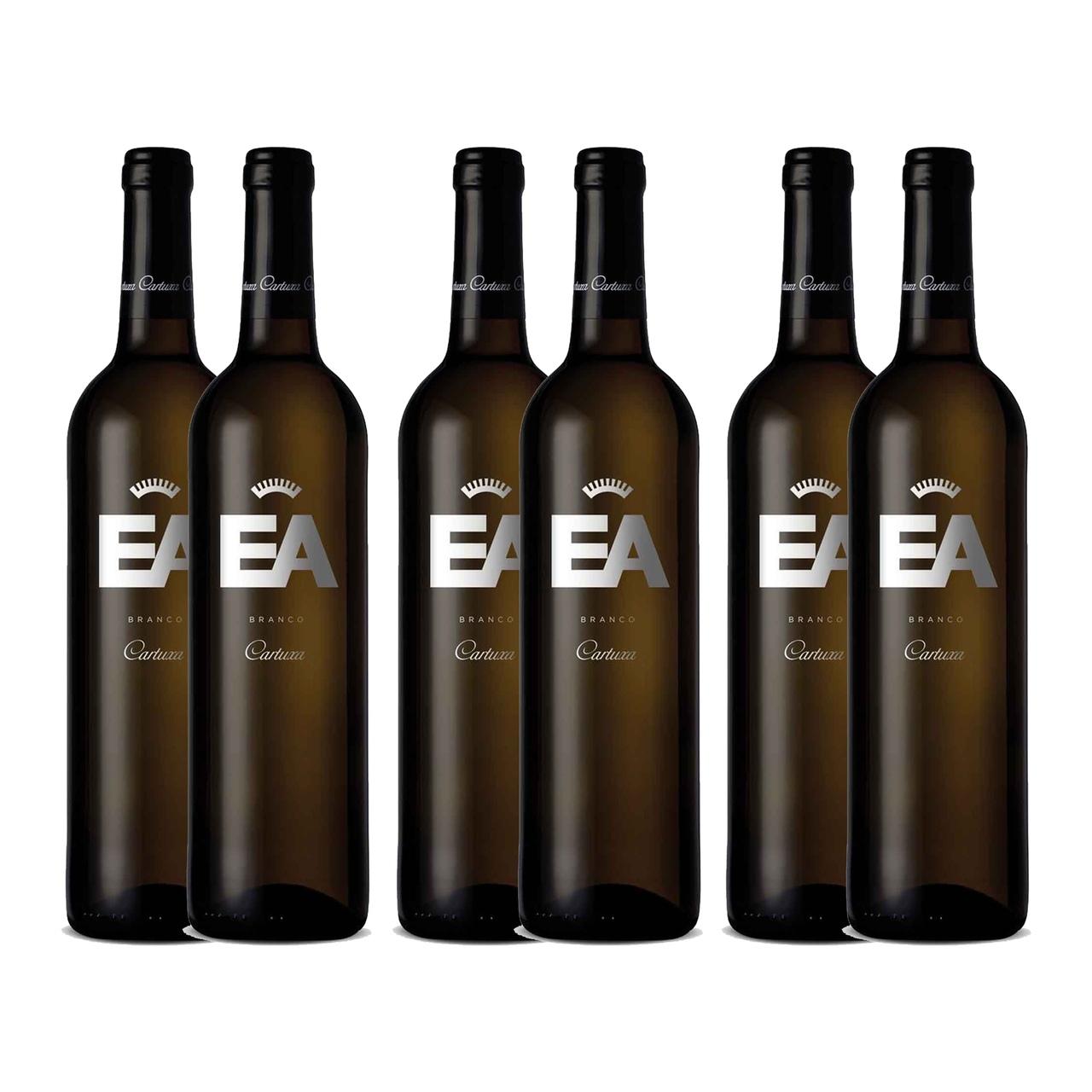 Kit 6x Vinho Branco Português EA Cartuxa 2019 750ml