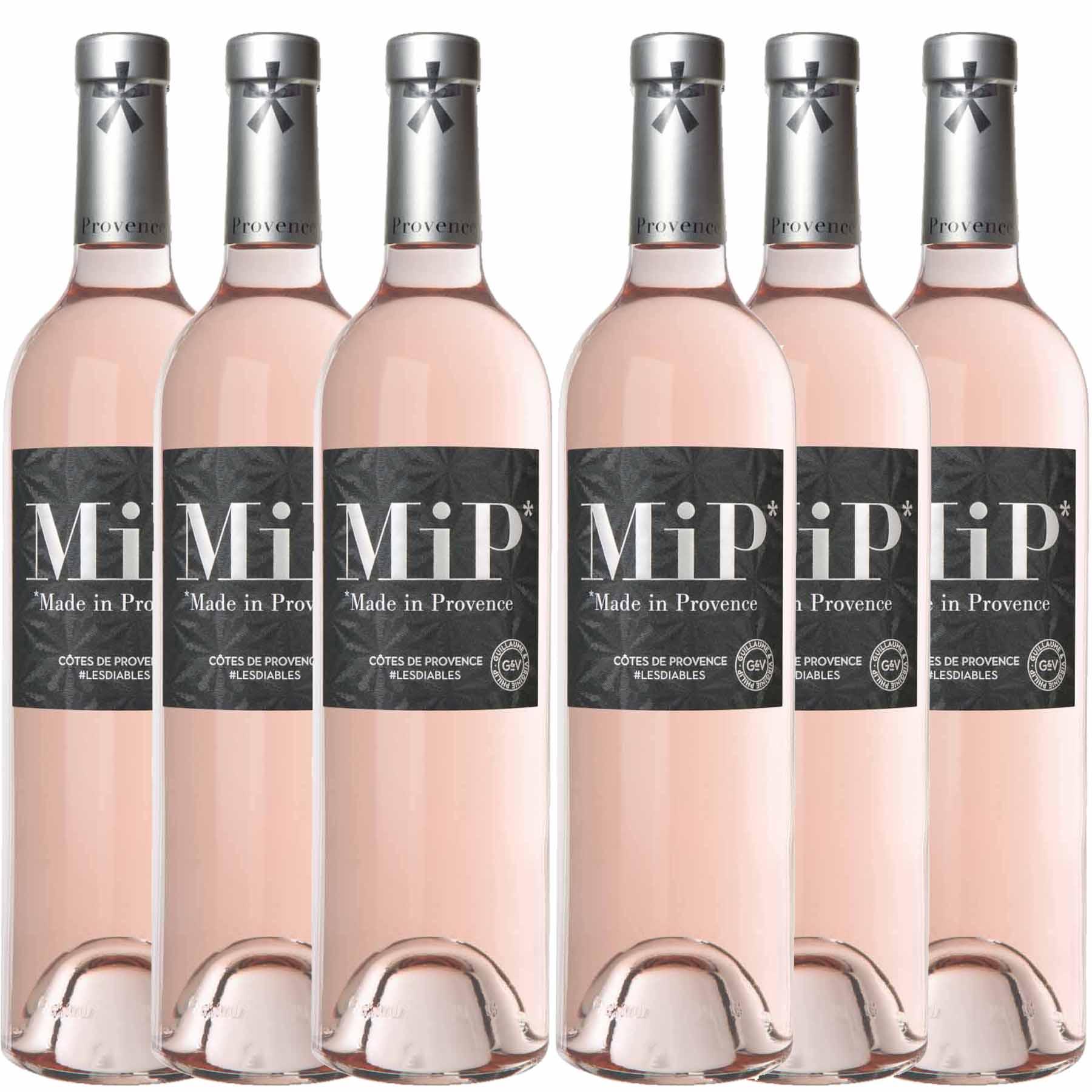 Kit 6x Vinho Rosé Francês MIP Classic Côtes de Provence 2019