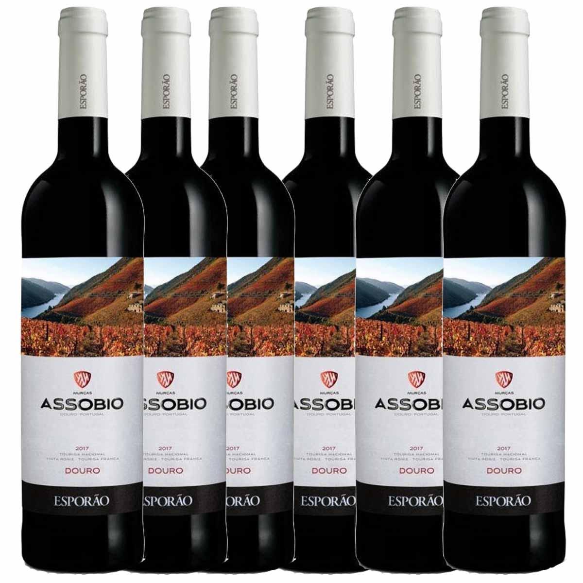 Kit 6x Vinho Tinto Português Esporão Assobio Douro 2019