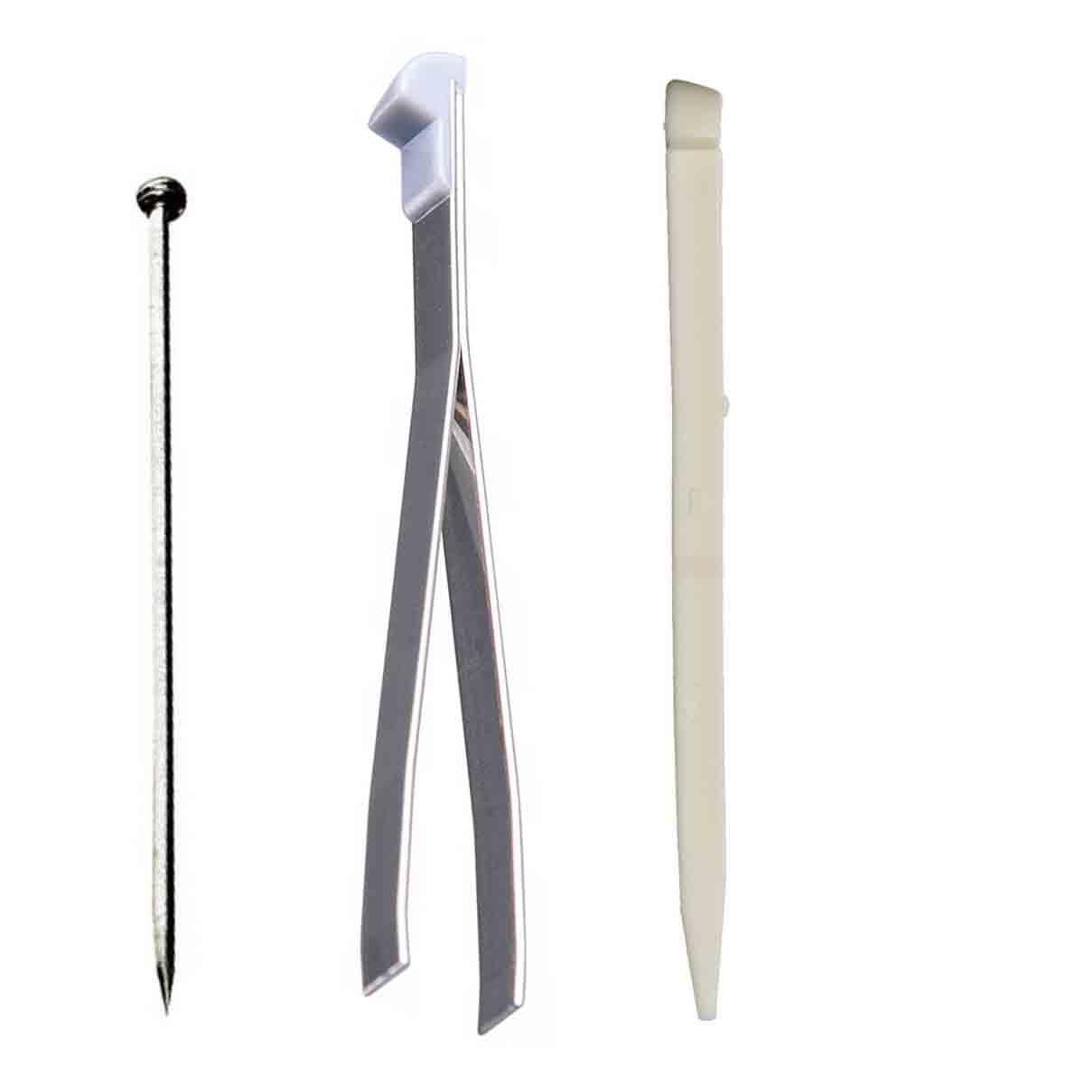 Kit Manutenção Victorinox Alfinete Pinça e Palito para canivete 91mm ou maior