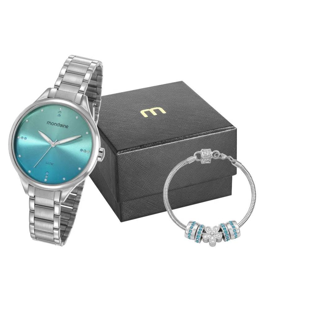 Kit Relógio Mondaine + Pulseira 32101L0MKNE3K1
