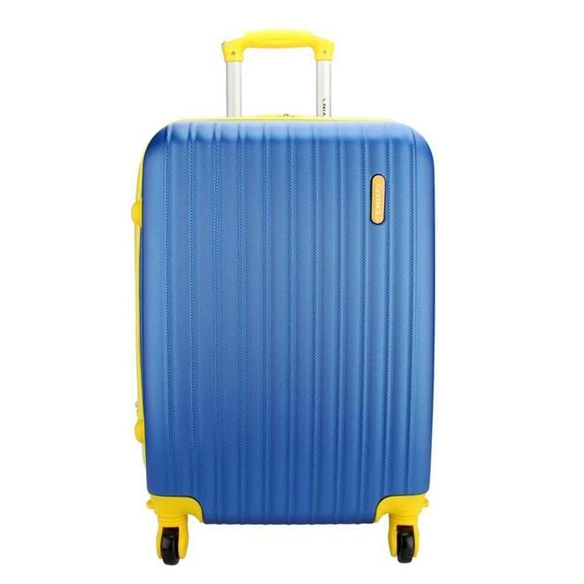 Mala Viagem de Carrinho YS02019AR-26 Grande 26'' 360° em ABS Yins YS02019AR-26